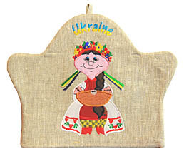 Ukrainian Girl Tea Cosy