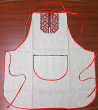 Large Embroidered Apron