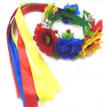 Vinok Headband w-ribbons