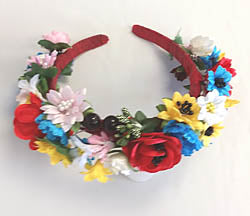 Floral Headband (no ribbons)