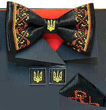 Tryzub Bow Tie Gift Set