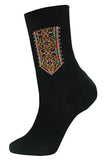 Mens Black Hutsul Socks