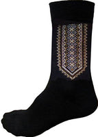 Mens Black and Brown Socks