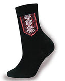 Mens Dress Socks in Red