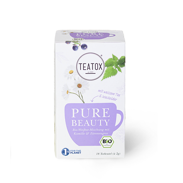TEATOX Bio Pure Beauty, DKB, 18x2g (6er Tray)