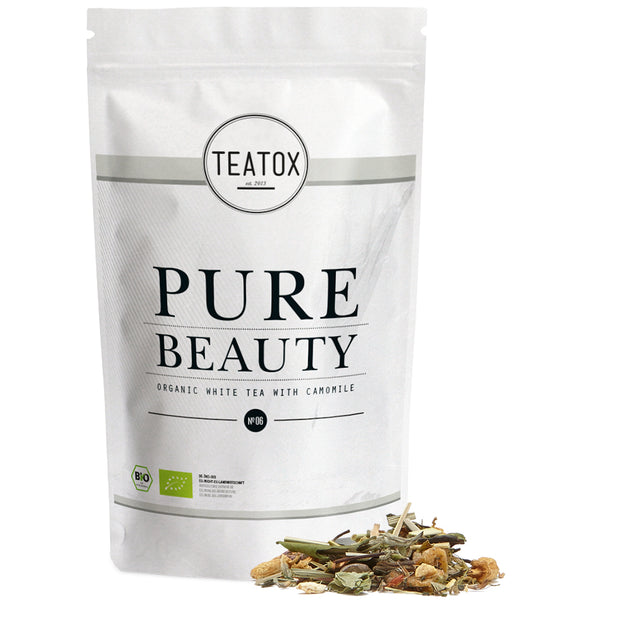 TEATOX Bio Pure Beauty, 60g, Ziplock (6er Tray)