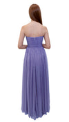 Bariano Gathered Maxi dress lavender back