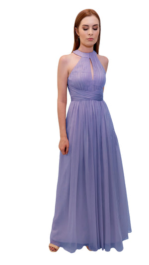 Bariano High Neck Dress Lavender