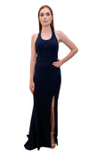 Dreams Scoop Neck Gown Midnight