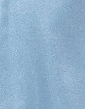 Satin Fabric in Sky Blue
