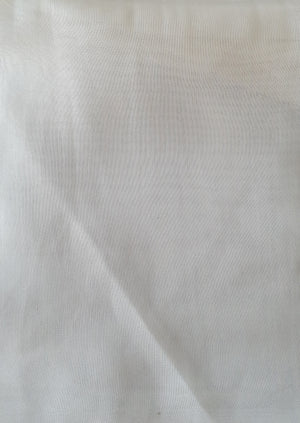 Bariano Art Silk Ivory fabric