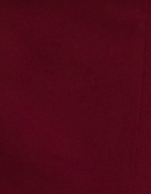 Bariano Eloise dress burgundy fabric