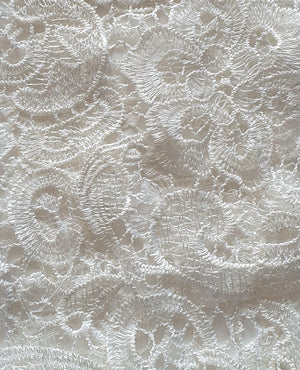 Bariano Lace white fabric