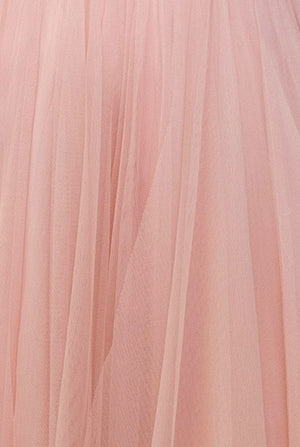 Bariano Petranzia Tulle Blush Fabric