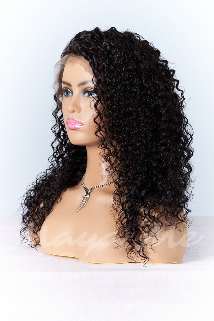full lace wig bouclee deep wave perruque cheveux naturels