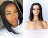 lace wig lisse carrée aby