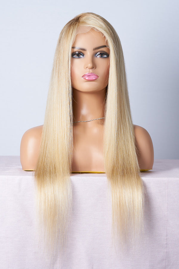 lace wig blonde longue