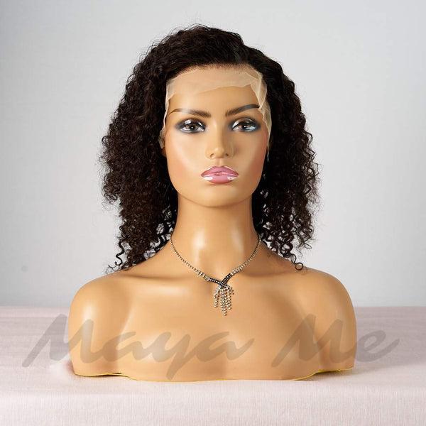 lace wig curly wave profil