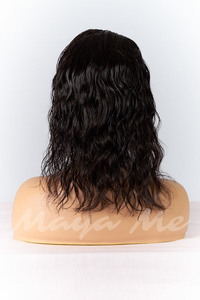 lace wig ondule body wave de dos