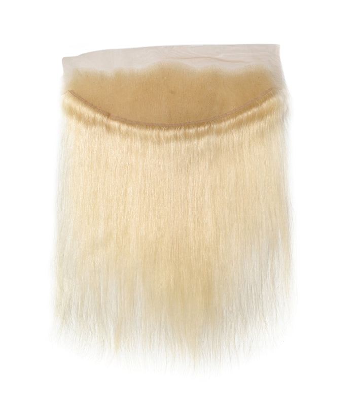 Lace Frontal Lisse blond platine 613