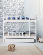 Oliver Furniture Seaside Etagenbett, 90 x 200 cm, weiss