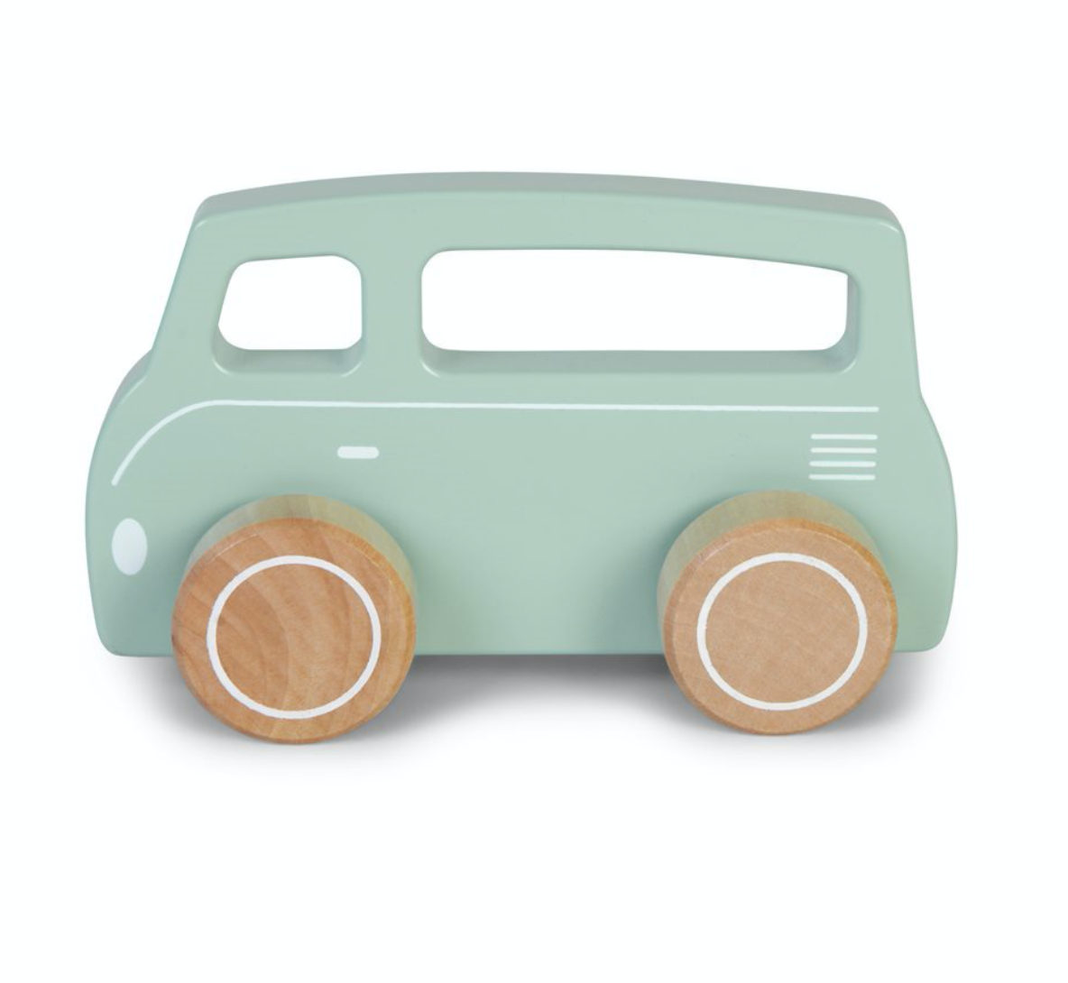 Little Dutch Holzauto Van, Mint