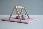 Little Dutch Baby Gym / Spieltrapez , Ocean Pink