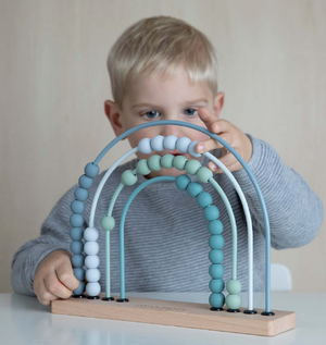 Little Dutch Regenbogen Abacus, Adventure Blue