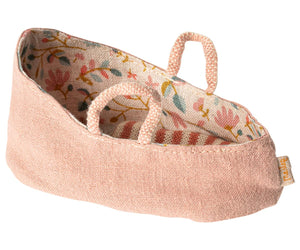 Maileg Carry cot, My, Misty rose