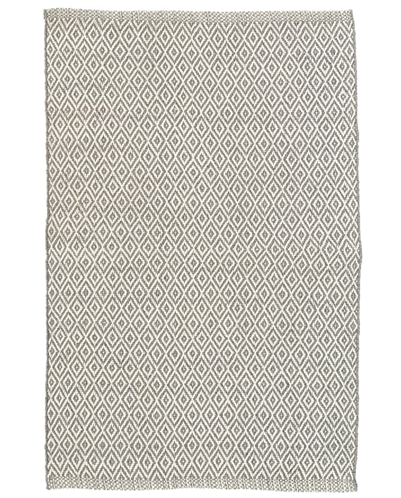 Dash & Albert Indoor/Outdoor Teppich Crystal Grey/Ivory