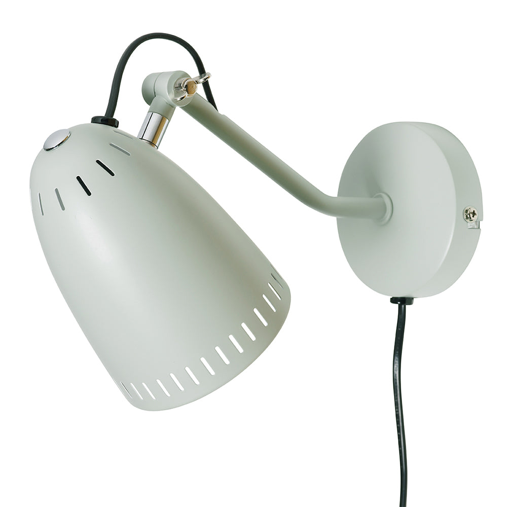 Super Living Wandlampe Misty green