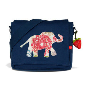 Kindergartentasche Canvas Elefant Indy
