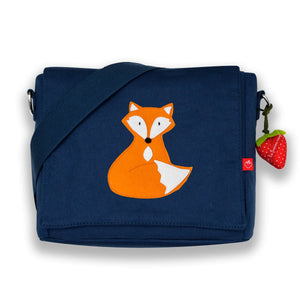 Kindergartentasche Canvas Fuchs