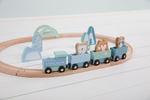 Little Dutch Holz Eisenbahn Set, Adventure mint
