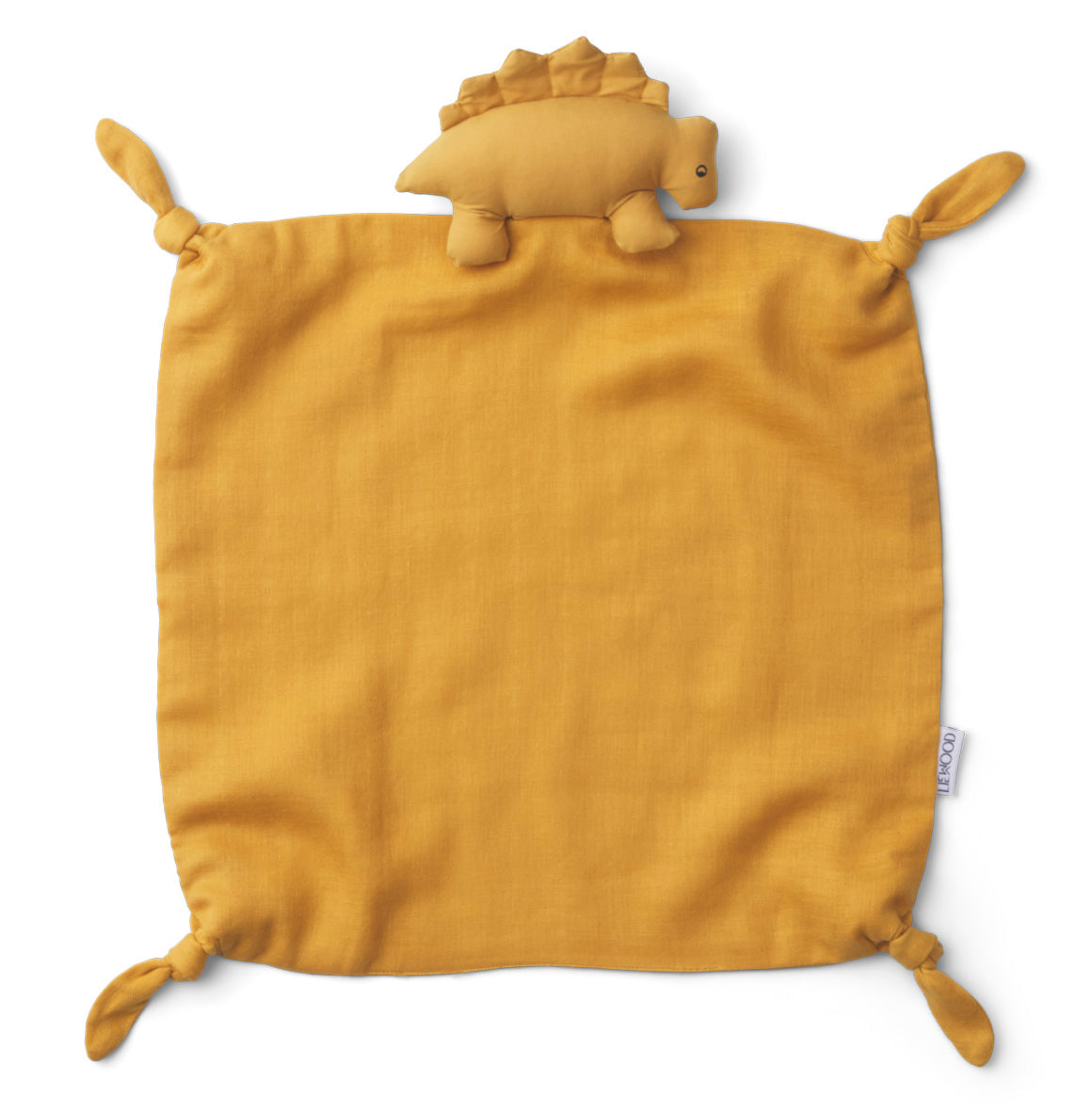 Liewood Agnete Cuddle Cloth Dino Yellow Mellow