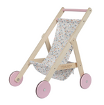 Little Dutch Holz Puppenbuggy-Spring flowers