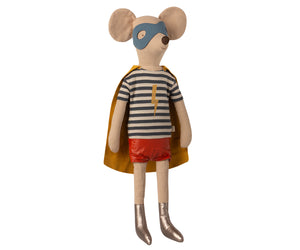 Maileg Super Hero Mouse, Maxi-Boy