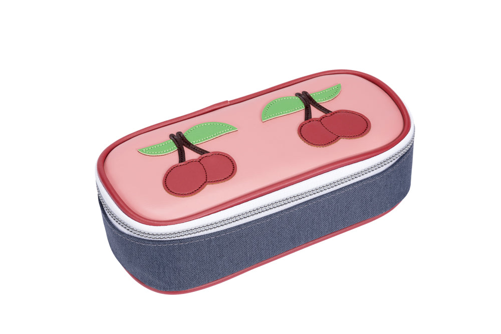 Jeune Premier Pencil Box Cherry Pink (Etui)