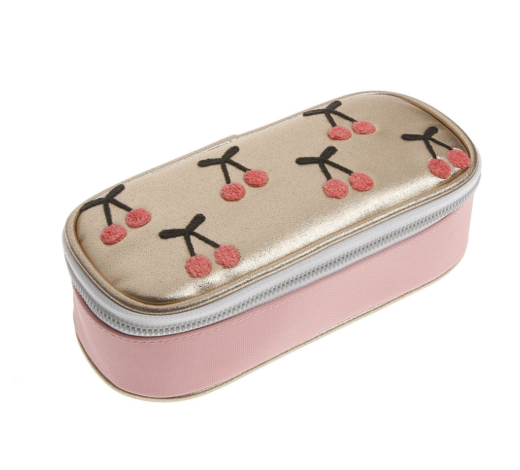 Jeune Premier Pencil Box Cherry Pompon (Etui)