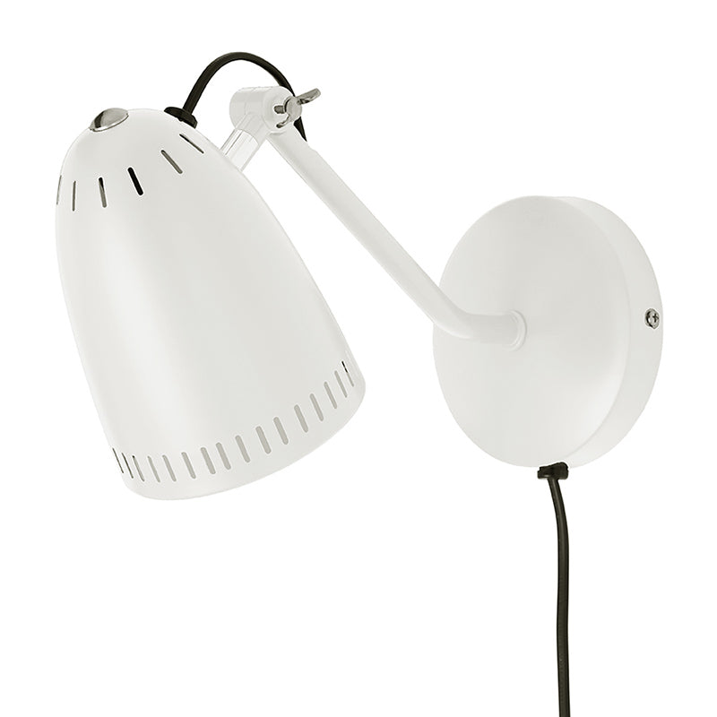 Super Living Dynamo Wandlampe matt whisper white