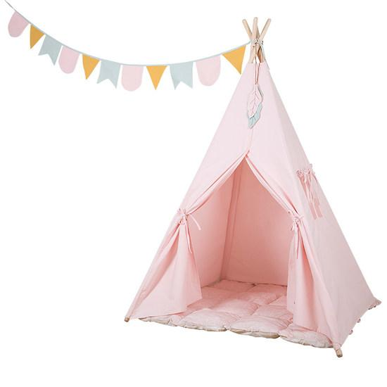 Little Dutch Tipi Zelt, rosa