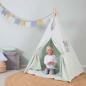 Little Dutch Tipi Zelt, mint