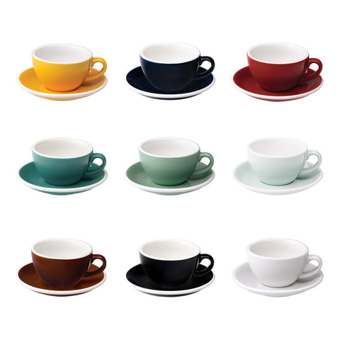 Loveramics Egg 200ml Cappuccino Coffee Cup & Saucer