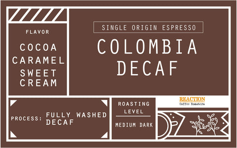 Single Origin Espresso - Decaffeinated