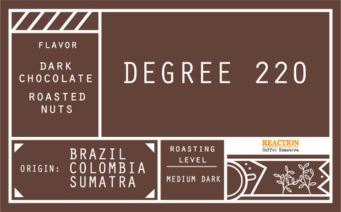 Coffee Drip Bag - Degree 220
