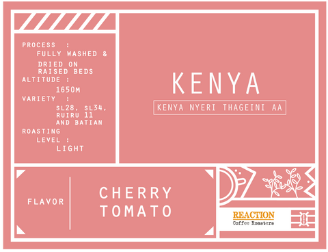 Single Origin - KENYA Nyeri Thageini