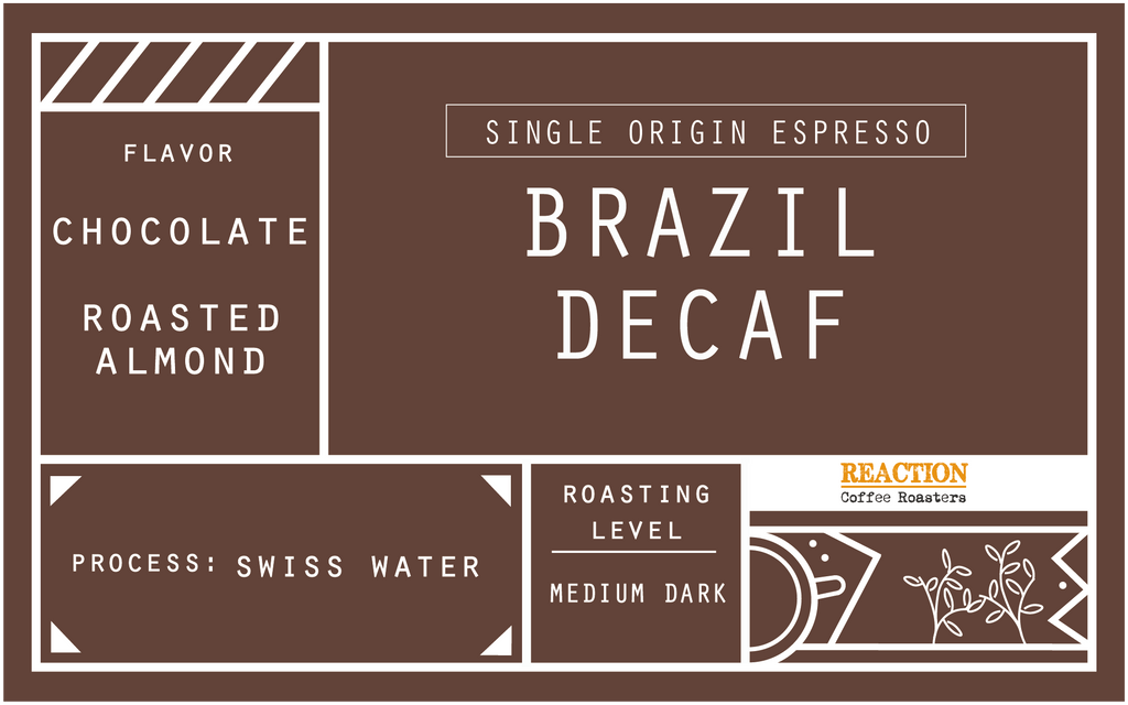 Single Origin Espresso - Brazil Decaffinated