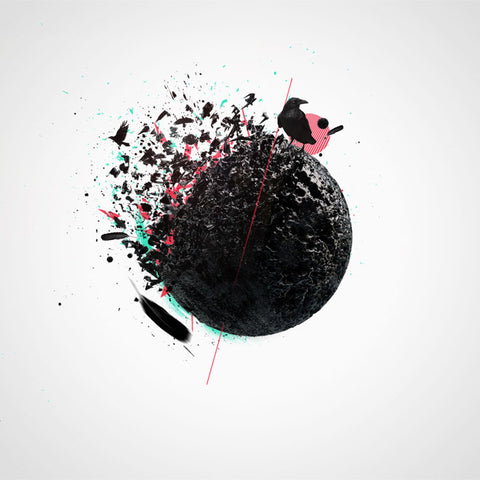PSD File - Design Conceptual Disintegration Effect in Cinema 4D and Photoshop