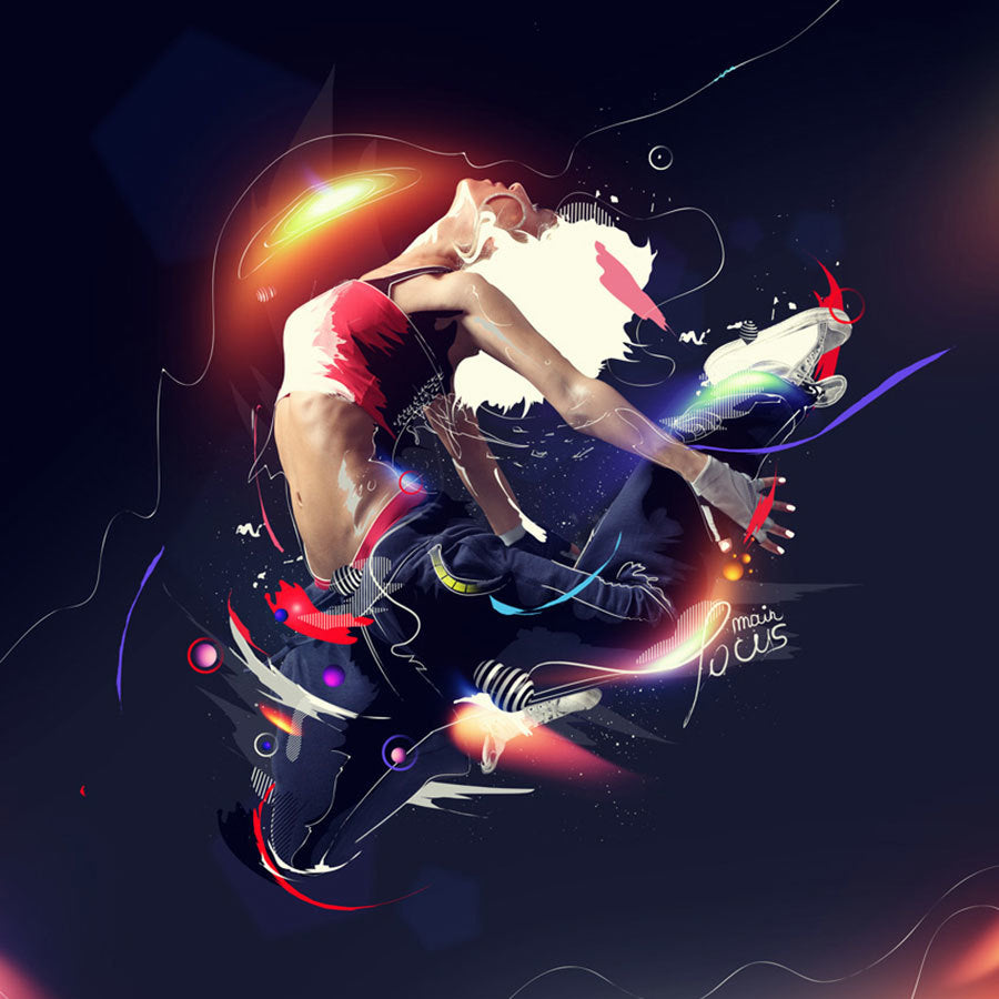 Premium Tutorial - Awesome Dancer Photo Manipulation in Photoshop
