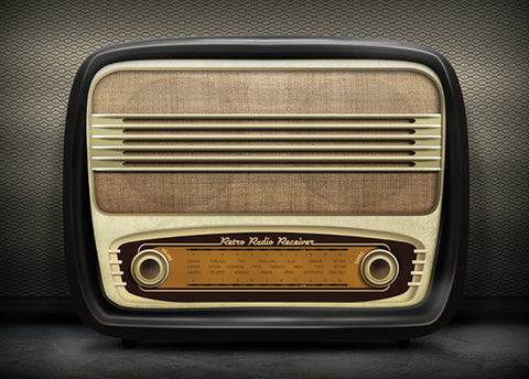 PSD File - Retro Radio Icon
